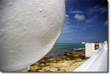 Picture of Beach Wall, Cozumel, Mexico