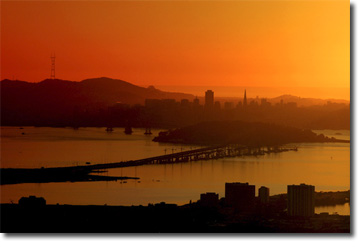 Picture of San Francisco Sunset