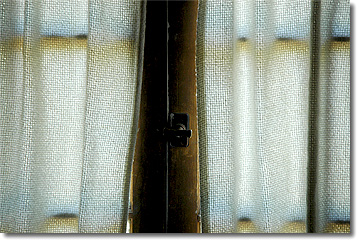 Picture of Curtain, Blumenschein House, Taos, NM